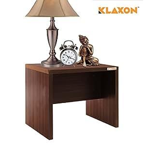 Klaxon Egan Side Table (Matte Finish, Walnut)