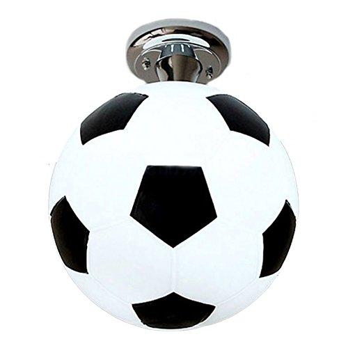 Lampada da soffitto per camera ragazzi, a forma di pallone da calcio, da soffitto