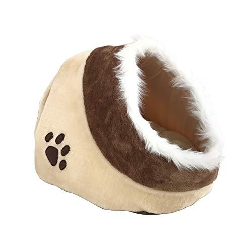LIZONGFQ Gato Pequeño Perro Cama Acogedora Mascotas