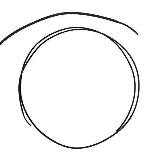Mieder hüfthalter schwarz thermorétractables elektrische dicht 1,5 mm x 1,0 m