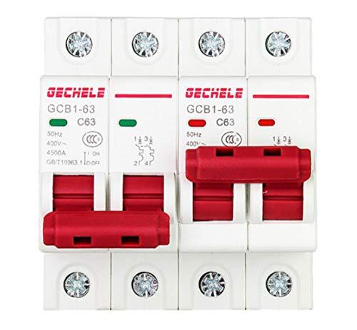 OIASD 47 Interlock Household Manual Doppelschalter 23 Interlock-Leistungsschalter Luftschalter 2P 63A, 50A 50a Steckdose