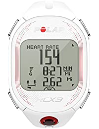 Polar RCX3 - Reloj con pulsómetro compatible con GPS, sensor de zancada y de velocidad para running y multisport (blanco)
