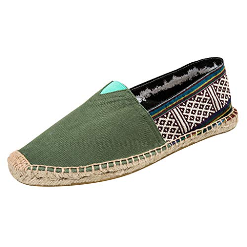 saymany Espadrillas Basse Casuali Colpisci Comfort Moda Stile Nazionale Boho Scarpe Slip On Flats