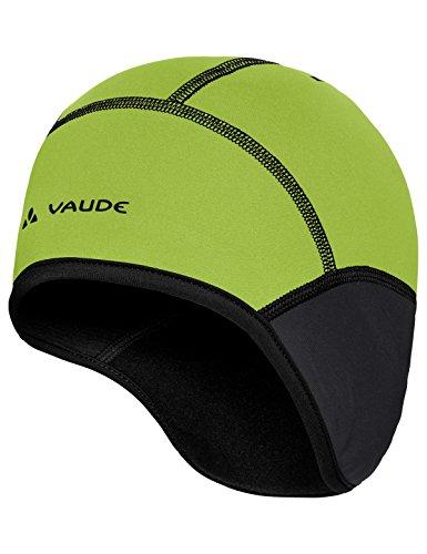 VAUDE Bike Windproof Cap III Kappe, Black/Chute, M