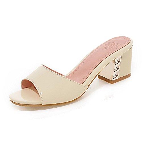 Estate-coreano versione di pantofole chunky tacchi parola/Dolce principessa scarpe D