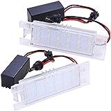 phil trade Set SMD LED Kennzeichenbeleuchtung 3200K warmweis Nummernschild 71001ww