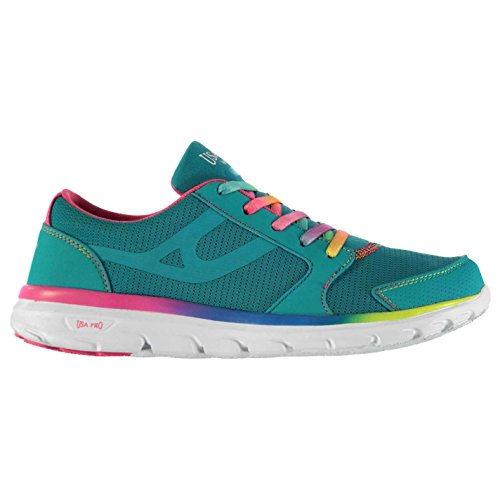 USA Pro Kinder Mädchen Lazulite Turnschuhe Sportschuhe Sneaker Mesh Schuhe Blau/Multi