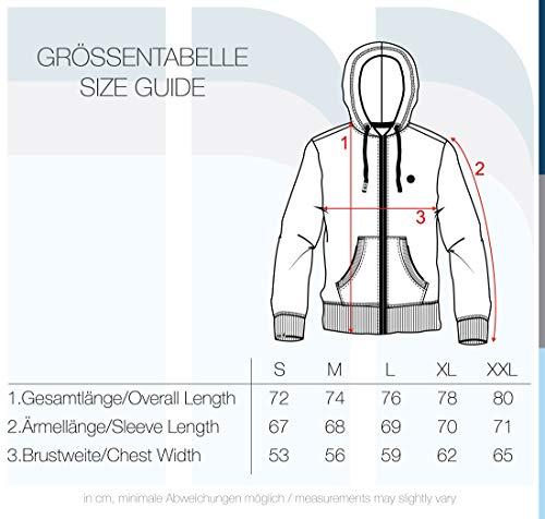 !Solid Bene Zip Hood Pile Herren Winter Sweatjacke Kapuzen-Jacke Zip-Hoodie Pullover mit Kapuze und Teddy-Futter, Größe:S, Farbe:INS BLU M (P8991) - 6