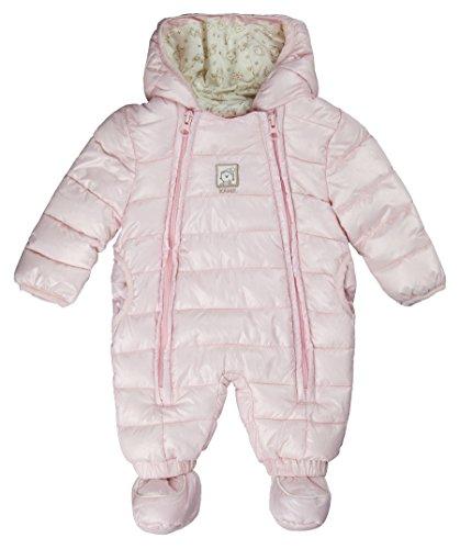 Kanz Unisex Baby Schneeanzug M. Kapuze 0003531, Skianzug für Kinder, Kind, Rosa - rosa, 92