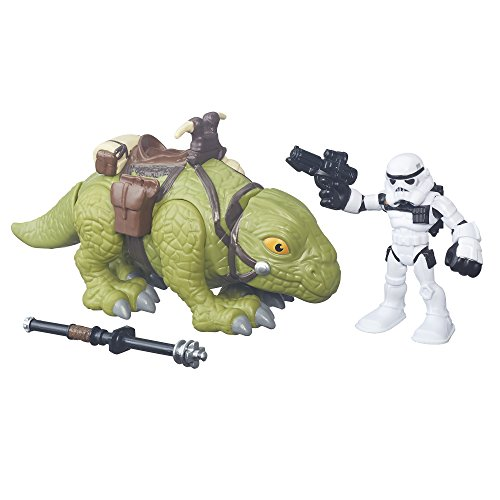 Star Wars Galactic Heroes: Sandtrooper & Dewback (Star Dewback Wars)