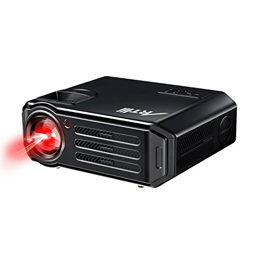 Artlii Home Theater Projector Euro Black