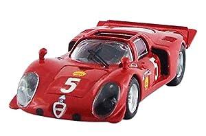 Mejor Modelo - 9585 - Alfa Romeo Spider-33.2 - Ganador Montlhéry 1969 - Escala 1/43