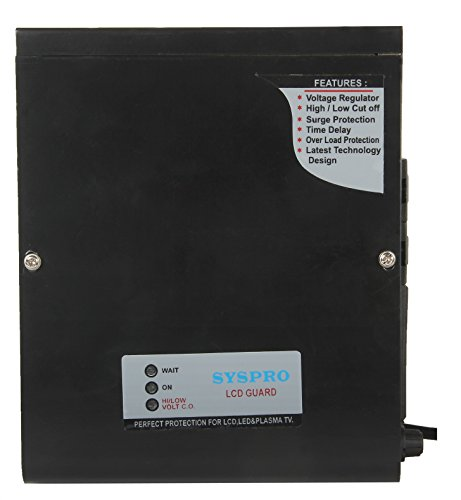 Syspro Commander Voltage Stabilizer For LED & LCD TV'S