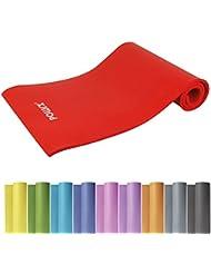 Powrx Gymnastikmatte Trainingsmatte Pilatesmatte Yogamatte Phthalatfrei 190 x 60 x 1.5 cm oder 190 x 100 x 1.5 cm | verschiedenen Farben | inkl. Trageband