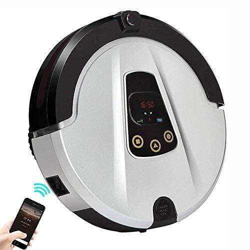 Barir Robot Aspirador con una Potencia de succión, de Carga, Tranquilo, for los Suelos Duros y alfombras...