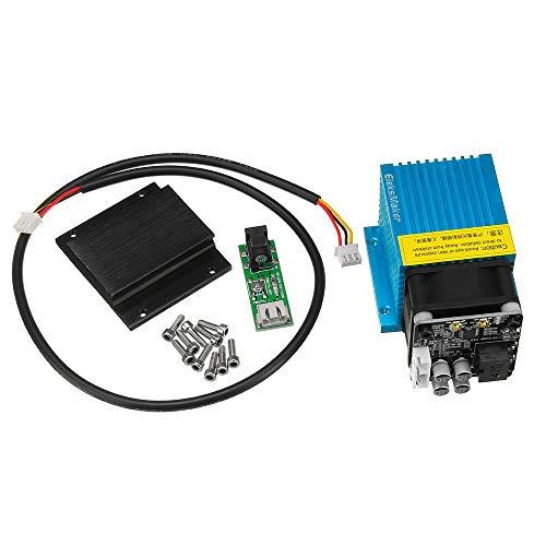 EleksMaker® EL01 7000 mW Módulo láser azul para grabador de bricolaje y  máquina láser