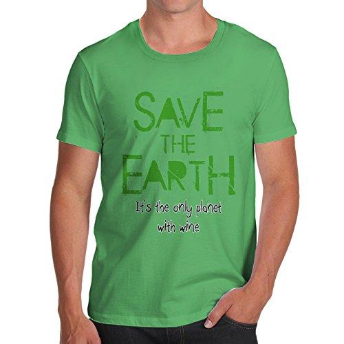 twisted-envy-mens-save-the-earth-t-shirt-tee-organic-cotton-gr-x-large-grun-grun