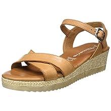 Tamaris 1-1-28248-24, Women's Ankle-Strap, Beige Cuoio 455, 6.5 UK (40 EU)