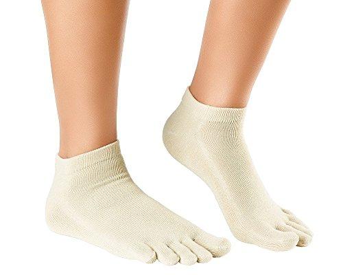 Knitido Naturals Organic Sneaker | calzini corti con le dita
