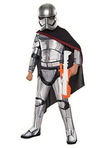 Deluxe Kapitän Phasma Kostüm Star Wars Der Force Erwacht Rubies Kinder Kostüm - Bitte Auswählen, S 98/104