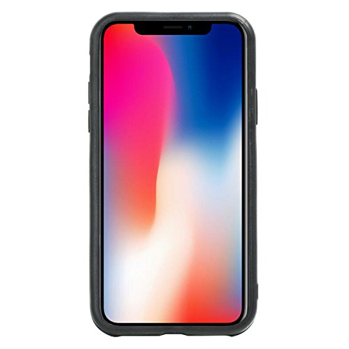 Custodia iPhone X, Electro-Weideworld Hybrid Shockproof Custodia con Supporto e Kickstand, Cover Protettiva Case per Apple iPhone X - Azzurro Azzurro