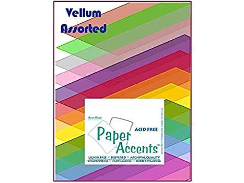 Accent Design Paper Accents ADP8511.1015 Paper Variety Pack Assorted