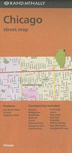Rand McNally Chicago, Illinois Street Map