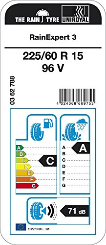 Uniroyal RainExpert 3 - 225/60/R15 96V - C/A/71 - Pneu été