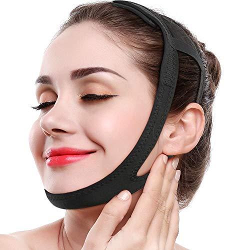 Facial Adelgazante Máscara Vendaje Cinturón Adelgazar