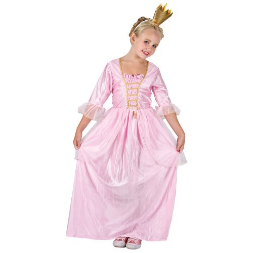 PRETTY PRINCESS QUEEN GIRLS COSTUME FANCY DRESS UP PARTY