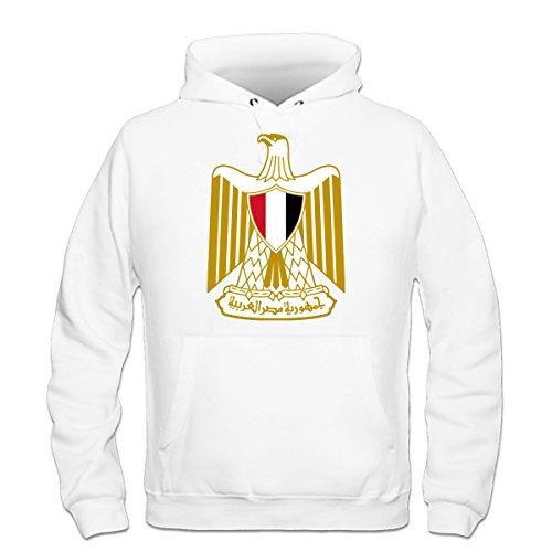 Ägypten Wappen Kapuzenpulli by Shirtcity (Geldbeutel Känguru-tasche)