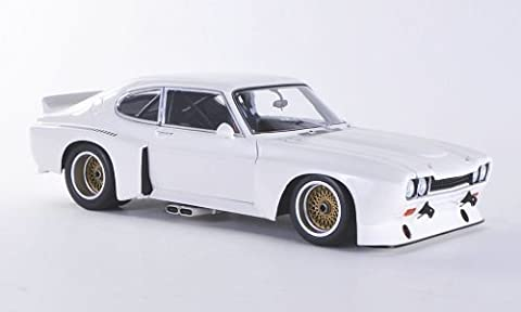 Ford Capri MkI RS 3100, weiss, Plain Body Version , 1974, Modellauto, Fertigmodell, Minichamps 1:18 (1974 Ford)