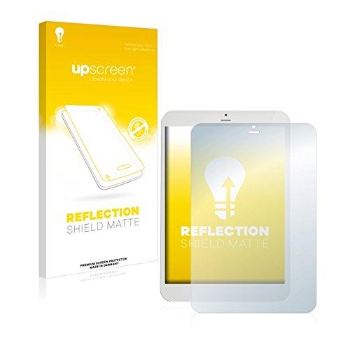 upscreen Reflection Shield Matte Bildschirmschutz Schutzfolie für i.onik TM3 Serie 1 - 7.85 (matt - entspiegelt, hoher Kratzschutz)