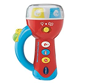 VTech Baby Spin and Learn Colours Torch - Multi-Coloured