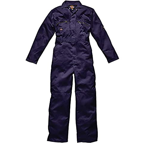 Dickies Redhawk Zip Front Coverall (Long) WD4839T - Navy - 44 [Apparel]