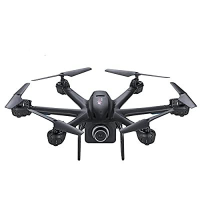 Dewang MJX X600 2.4GHz 4 Channel 6 Axis GyroRC Helicopter Drone with Wifi FPV C4008 HD Camera RC Quadcopter with HeadlessMode and Auto-Return Feature RTF Model 2 for IOS & Android System
