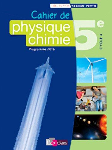 Physique Chimie 5e - Collection Regaud - Vento Manuel de l'élève - Edition 2016
