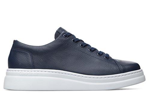 Runner liscia Blu in marino Camper up Sneaker pelle B56f6q