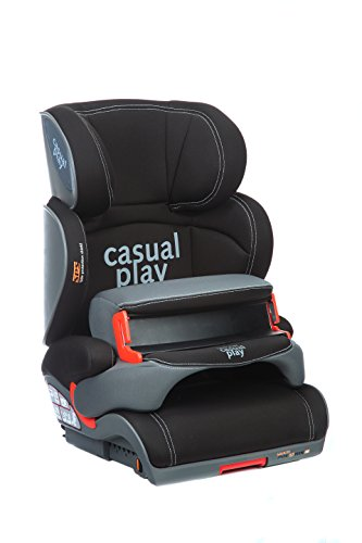 Casualplay Multipolaris Fix - Silla de coche, grupo 1/2, color negro