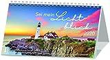 Sei mein Lichtblick 2020: Postkarten-Kalender mit Leuchttürmen und Meer