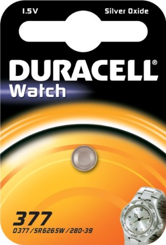 DURACELL Pile oxyde argent\