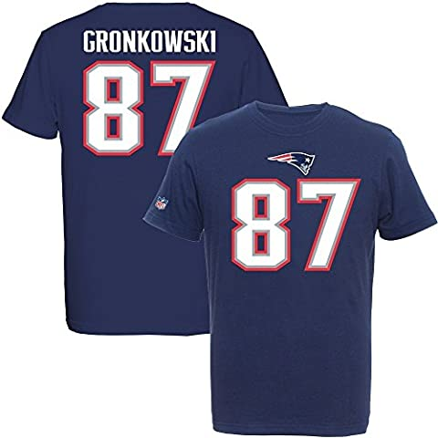 Majestic NFL Fan Shirt - New England Patriots Rob Gronkowski