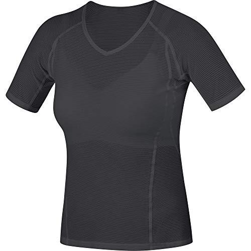 GORE WEAR Damen M Base Layer Shirt, Black, 40