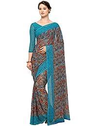 Vaamsi Chiffon Printed Saree