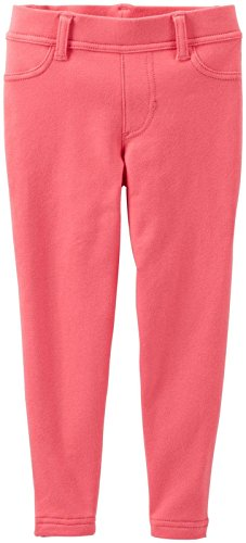 Carter's Baby Girls' Knit Jeggings (Baby) - Coral - 9 Months