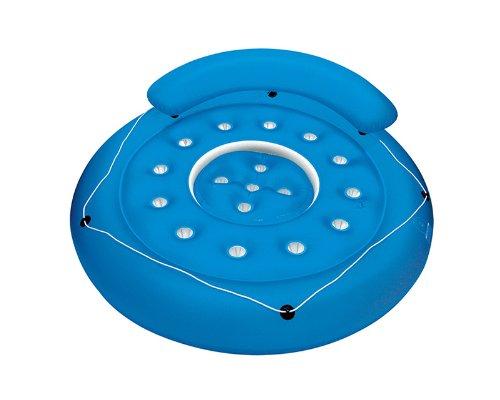 Poolmaster Badeinsel mit Tauchöffnung