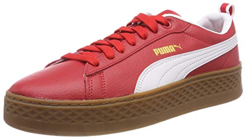 Puma Damen Smash Platform VT Sneaker, Rot (Ribbon Red White 02), 42 EU