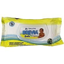 BREVIA - Pack de 80 toallitas Baby Cream con Tapa