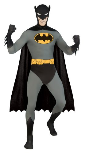 Kostüm L Batman 2nd skin Overall Jumpsuit Superhelden heroes (Skin Kostüm 2nd Superman)