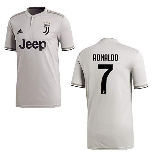 adidas Juventus Turin Trikot Away Herren 2019 - Ronaldo 7, Größe:M